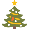 Christmas tree emoji google