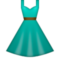 Dress apple emoji