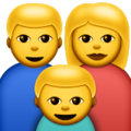 Family emoji apple