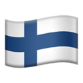 Finland emoji apple