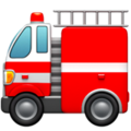 Fire Engine emoji apple