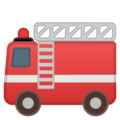 Fire Engine emoji google