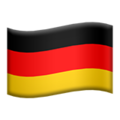 Germany emoji apple