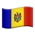 Moldova emoji apple