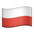 Poland emoji apple