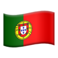 Portugal emoji apple