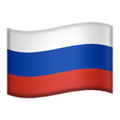 Russia emoji apple