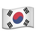 South Korea emoji apple